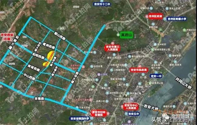 片区规划图-吉安房产网