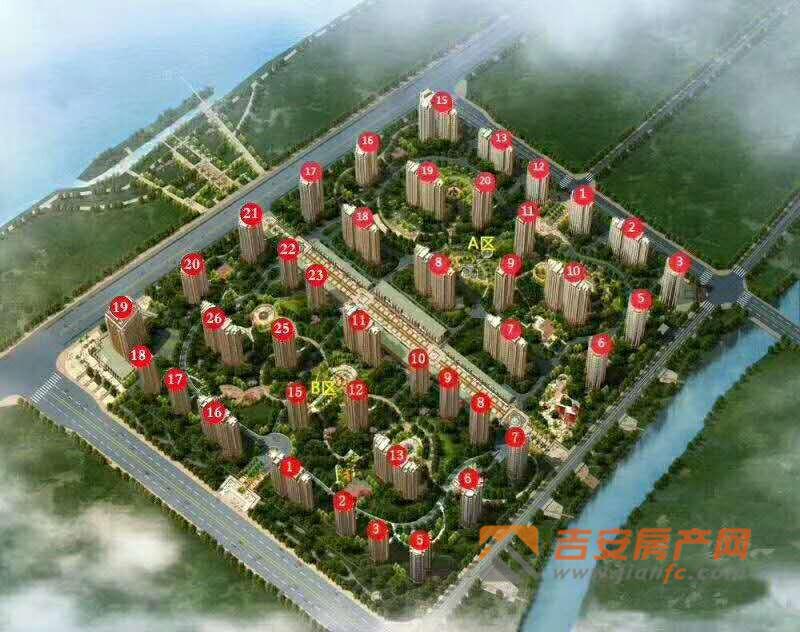 上江界楼号图-吉安房产网