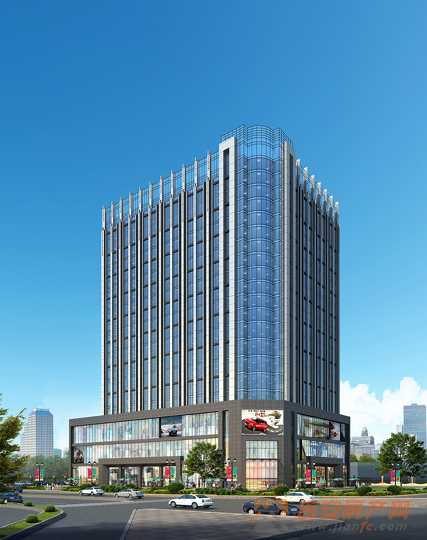 紫荆大厦效果图-吉安房产网
