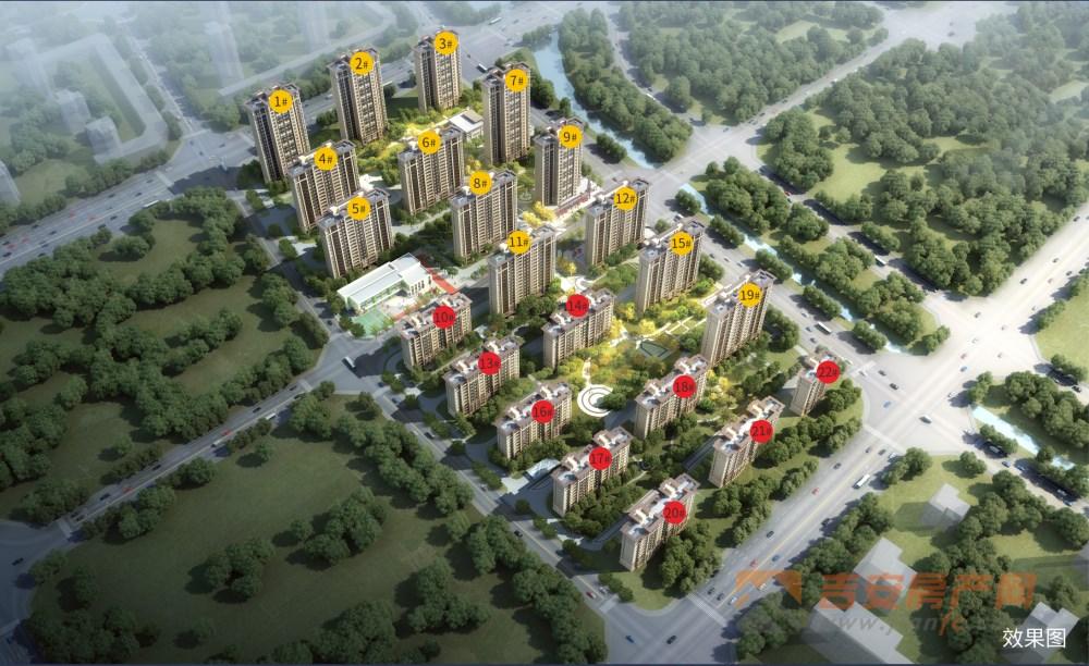 蓝光雍锦半岛楼号图-吉安房产网