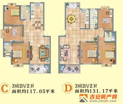 完美户型颠覆想象空间  恒富·紫荆佳苑房屋纯框架板式结构,南北通透