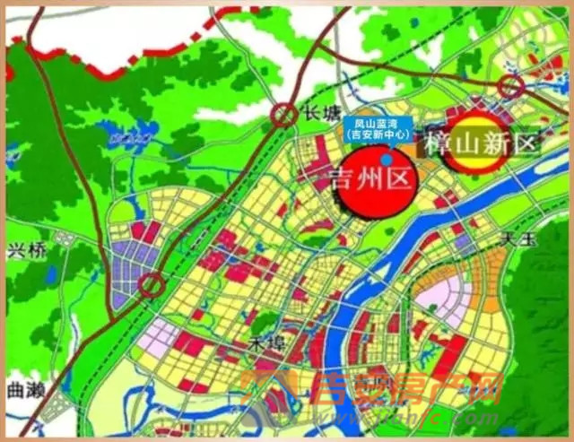 导语:日前,吉安市召开了中心城市规划建设委员会2016年第三次主任办公会,审议通过了由吉安市城市规划设计院编制的樟山镇镇区(金樟组团樟山片区启动区)控制性详细规划。这意味着,吉安市城北的樟山新区已经进入到全新的发展阶段。  樟山新区实力崛起,一个全新的大吉安到来 毗邻庐陵文化生态园,串起燕坊、文石双古村,依偎绵延赣江河畔;南起吉州工业园,北至樟山镇政府,城区对接吉水、赣江东岸核心区,吉泰走廊北端城市融城引擎区,28平方公里的土地上正在上演着神奇演变。吉州区樟山新区一个独具魅力的新型宜居、宜游、宜