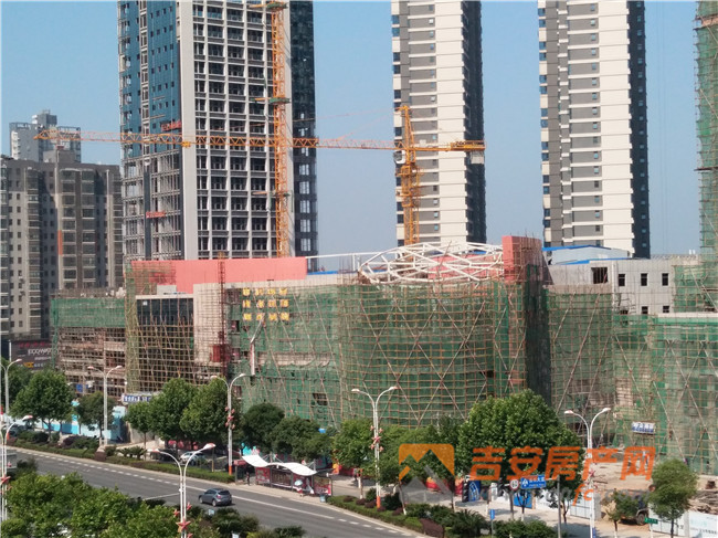 枫丹白露周边大润发商圈在建-吉安房产网
