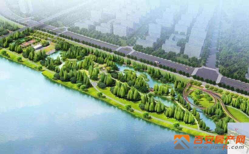 滨江生态公园效果图-吉安房产网
