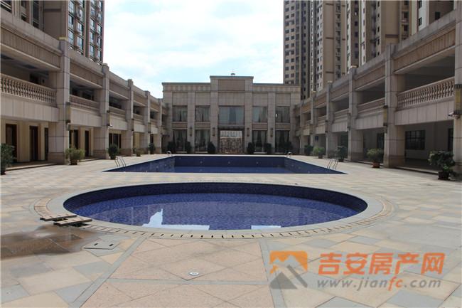 上江界社区泳池实景-吉安房产网
