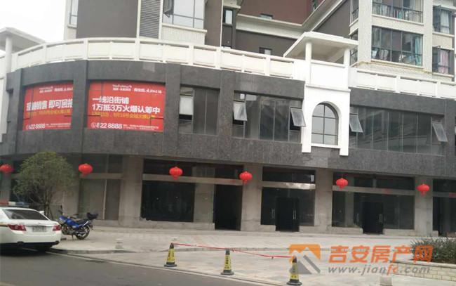 永叔龙湾大街旺铺实景-吉安房产网