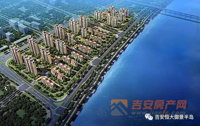 恒大御景半岛雄踞赣江之畔,占据城市稀缺江景资源.
