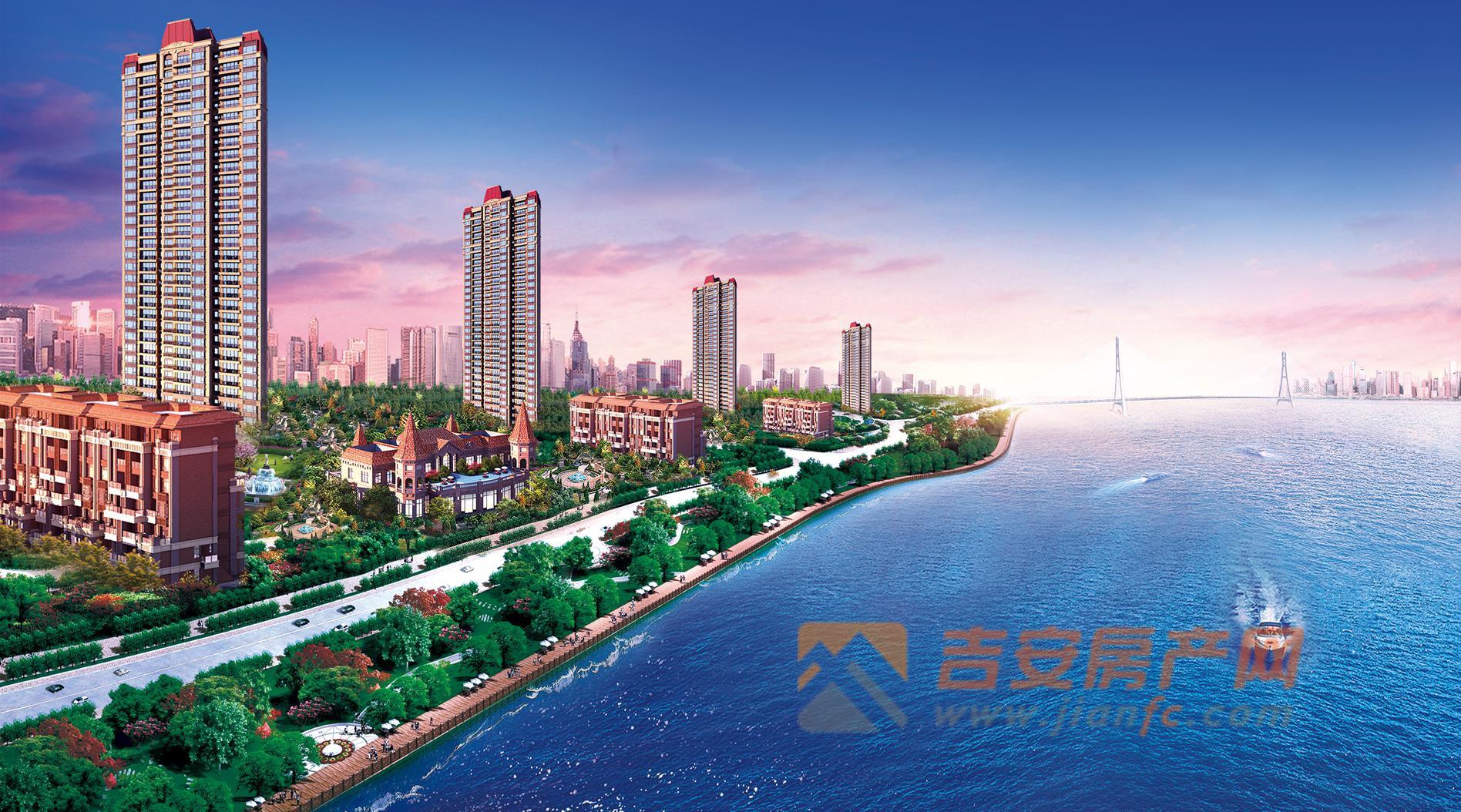打造江岸生活理想之城——恒大御景半岛,在赣江边书写城市人居新典范!