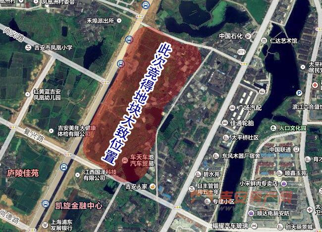 土地位置示意图-吉安房产网