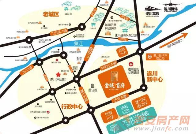 遂川县城地图全图