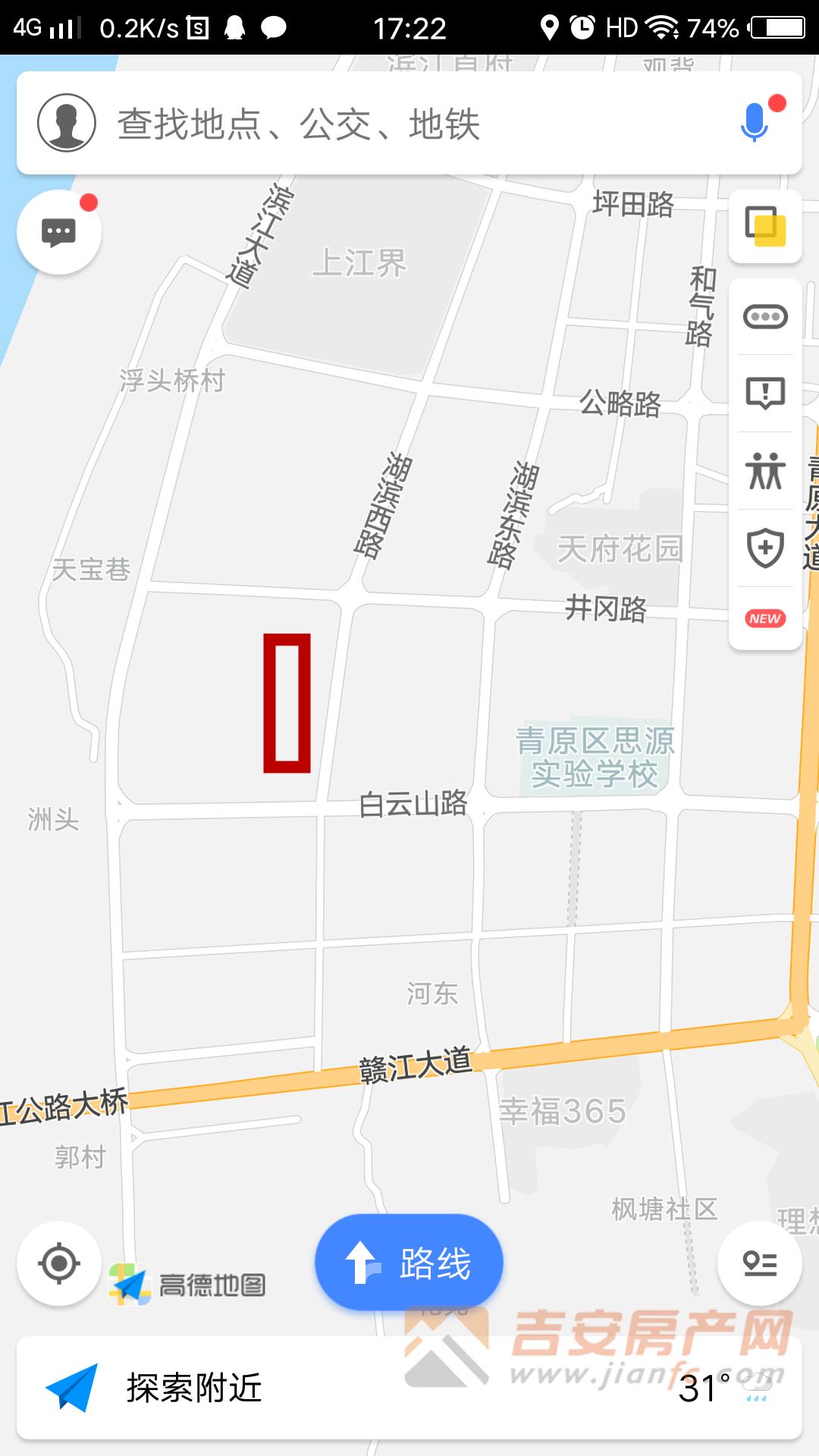 地块位置图-吉安房产网
