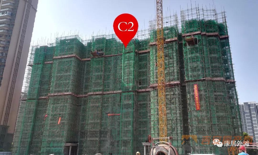 康居外滩工程实景图-吉安房产网