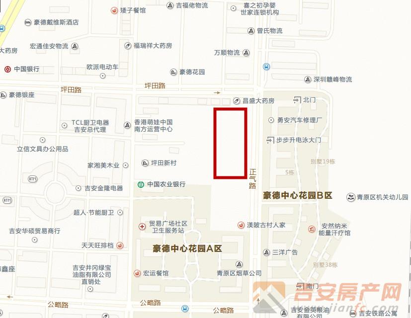 位置图-吉安房产网