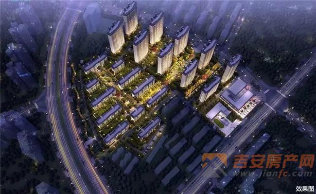 项目鸟瞰图-吉安房产网