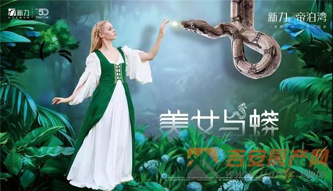 美女与蟒蛇效果图-吉安房产网
