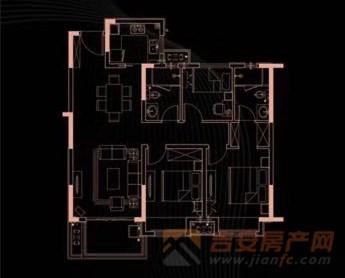 世茂璀璨天城户型图-吉安房产网