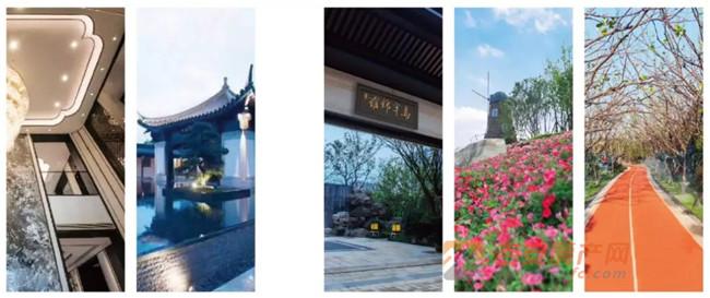 蓝光雍锦半岛效果图-吉安房产网
