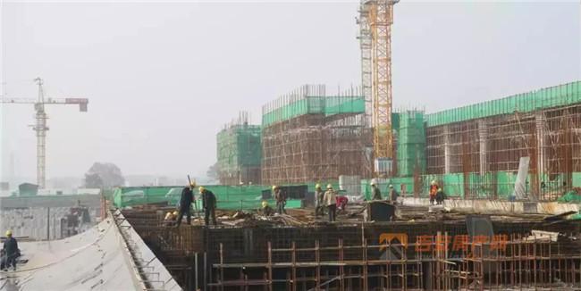 吉安西站工程实景图-吉安房产网