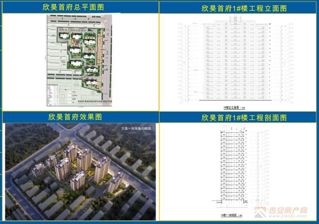 欣昊首府批后公示图-吉安房产网