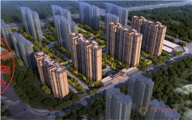 鑫乐泉风华新村项目效果图-吉安房产网