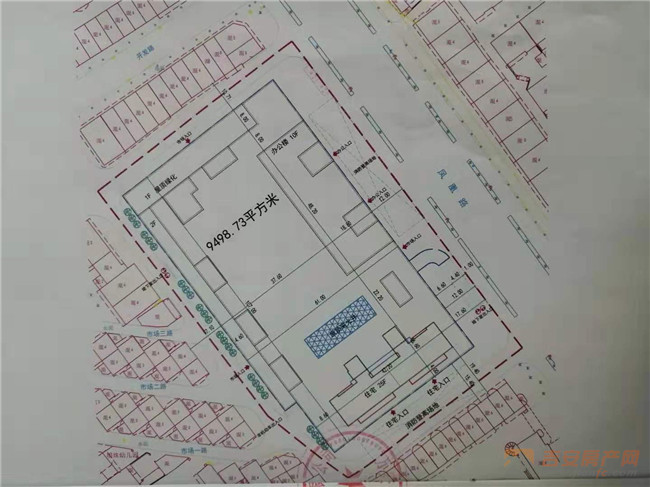 DDM2019027地块红线图-吉安房产网