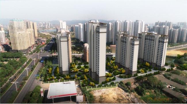 凯旋城市之光效果图-吉安房产网