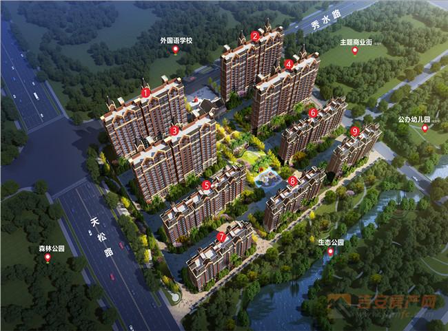 鑫华城·幸福里楼号图-吉安房产网