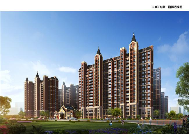 鑫华城·幸福里效果图-吉安房产网